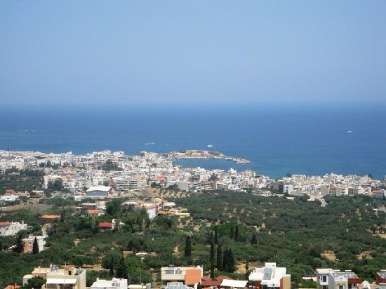 Albatros Spa & Resort Hotel: Hersonossos, vue de plus haut