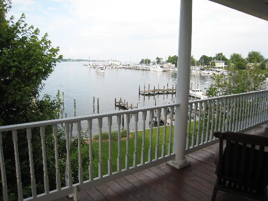 Blue Heron Inn - a Bed & Breakfast : View from Balcony Suite 2