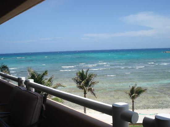 Villas del Mar 2: The beautiful view from the patio