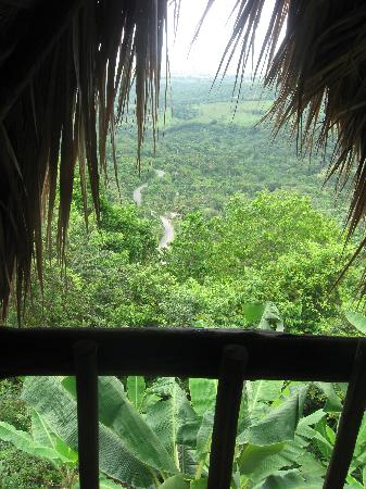 Tubagua Plantation Eco Lodge: The view from our room