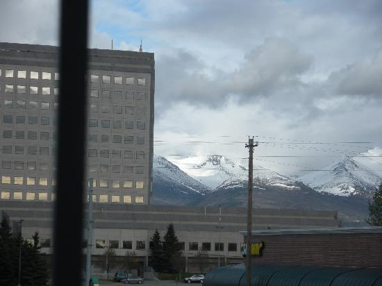 Embassy Suites by Hilton Anchorage: From Hotel window