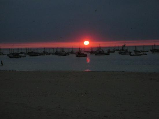 Punta Veleros, Perù: Sunsset