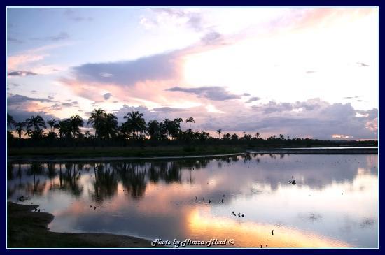 Praia de Canoa Quebrada: sunset in Icapui, photo by Nimra Mhad