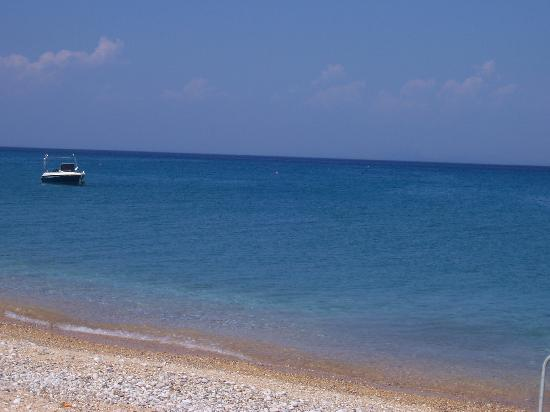 Anassa Hotel: The beach