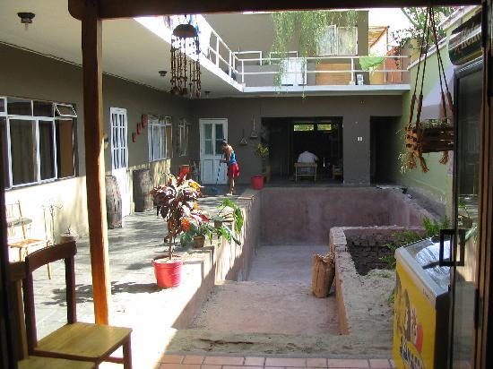 Hospedaje del Barco : patio del hostal