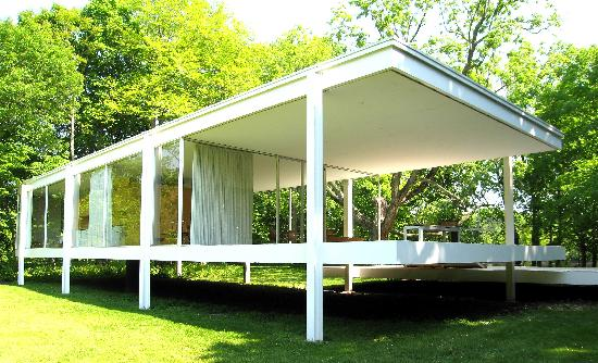 Plano, IL: Farnsworth House