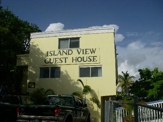 Island View Guest House: Glad we took a cab!