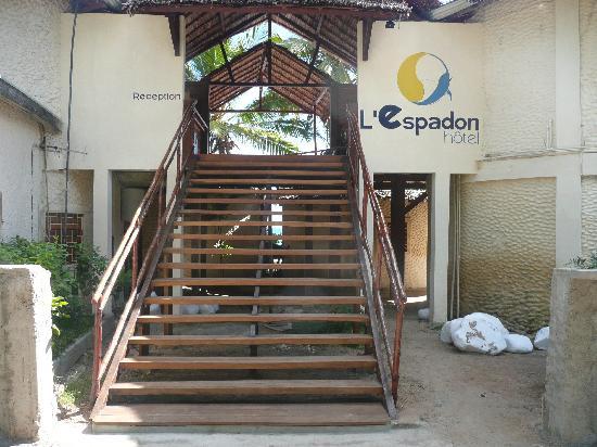 Hôtel Espadon Nosy Be : La nouvelle réception