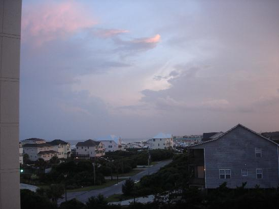Sound of the Sea Condominiums: View from the front (non-beach) side of 312 West
