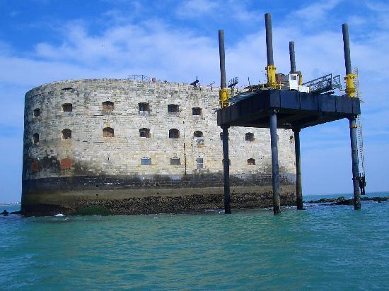 Poitou-Charentes, Frankrike: Fort Boyard Boat trip