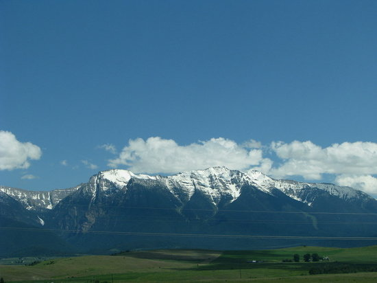 Glacier National Park, MT: driving to Glacier