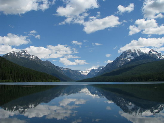 Glacier National Park, มอนแทนา: Bowman Lake