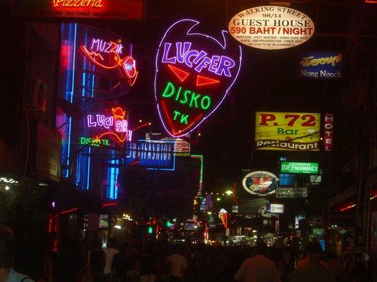 Pattaya, Thailand: サウスパタヤの歩行者天国①
