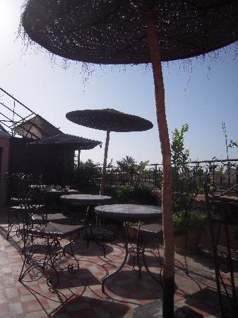 Terasse Riad Hotel Assia Marrakesch
