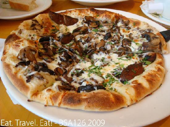 Wild Mushroom Pizza California Pizza Kitchen