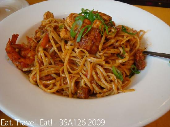 Jumbalaya Pasta Picture Of California Pizza Kitchen