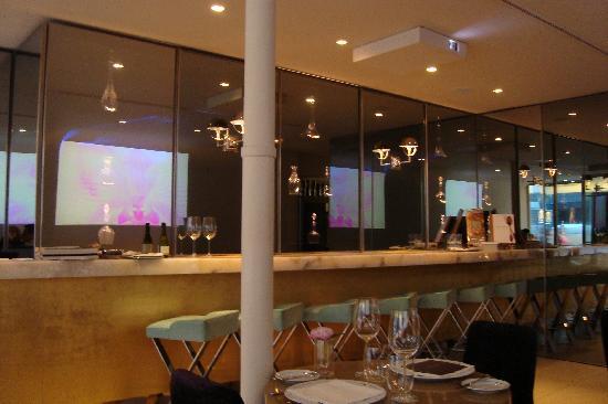 Guy Martin Italia : Lunch/bar area