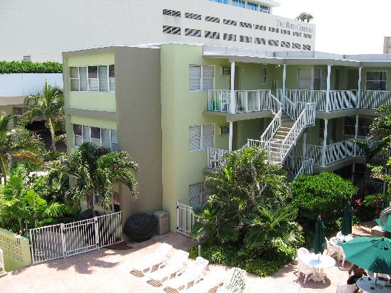 Silver Seas Beach Resort: S side units