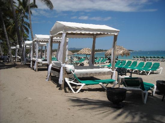 Hotel Celuisma Cabarete: the beach beds