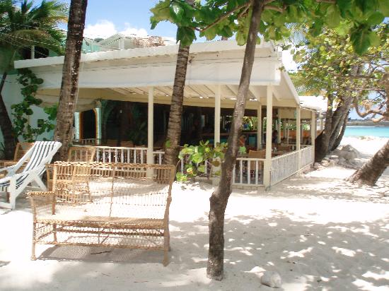 Siboney Beach Club: side view of coconut grove