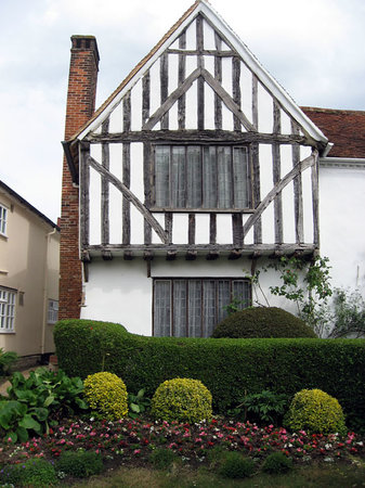 Anglia orientale, UK: Typical house in Lavenham.