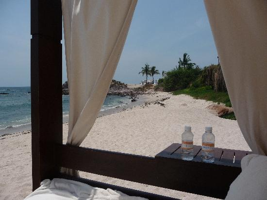 Four Seasons Resort Punta Mita: The cabanas!