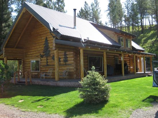 Starkey, Орегон: Stay in a beautiful and cozy log home