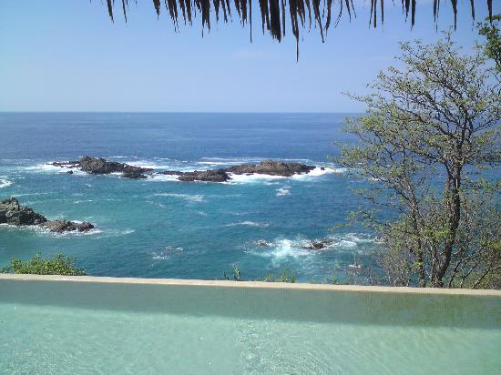 Casa Pan de Miel: view from pool