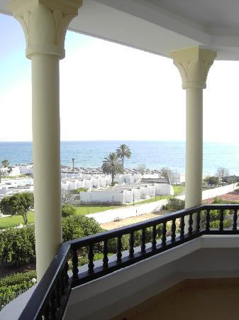 Orient Palace Hotel: view from the room's terrace