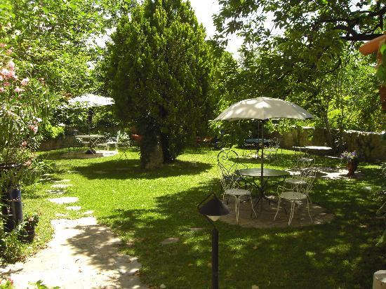 La Bastide du Paradou : giardino