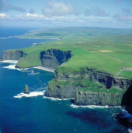 Irlanda: Los Acantilados de Moher, Condado de Clare