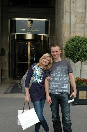 Hotel de Crillon: l'entrée de l'hôtel
