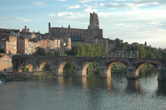 Tarn, France : Albi, cité épiscopale, Cathédrale STe cécile et Musée Toulouse Lautrec