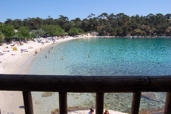 Pension Archodissa: Aliki beach, five minutes from the pension by foot
