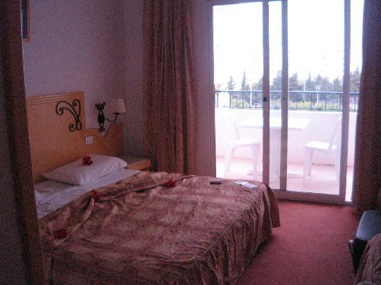 Hotel Club President: la chambre