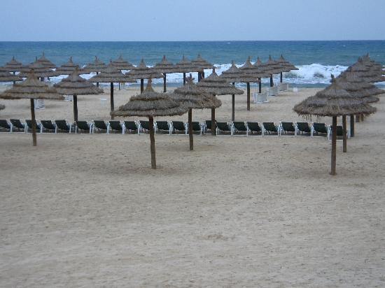 Hotel Club President: la plage
