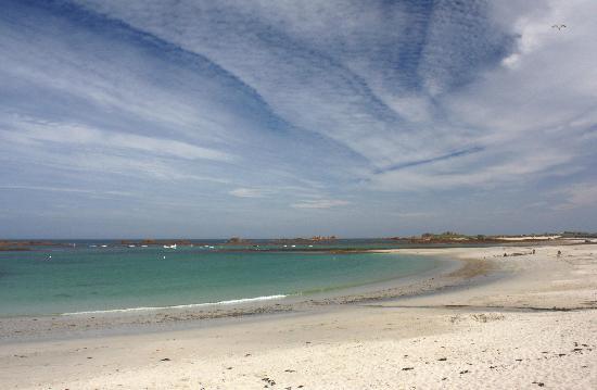 Guernsey: Beaches - Cobo Bay