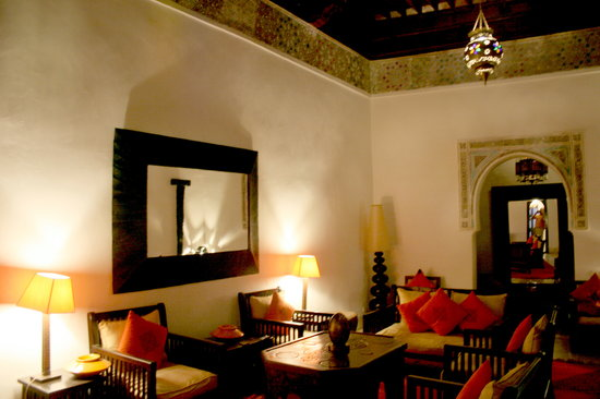 Riad Mabrouka Marrakech: living room