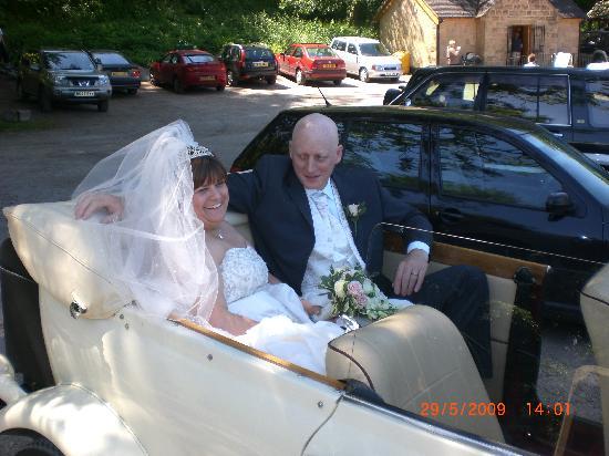 Hotel Rudyard: Our wedding