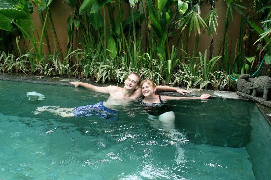 Seminyak, Indonesia: relaxing at Villa Sedap Malam