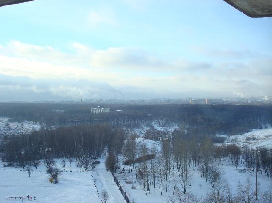 Tsaritsino Hotel: view of the Tsaritsino park from my room