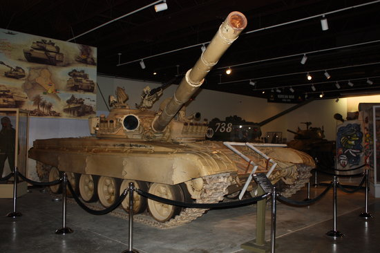 Fort Knox, KY: Captured Iraqi tank