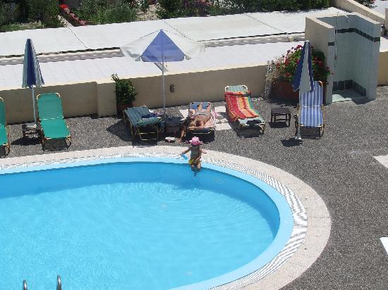 Despina Studios: the swimming pool
