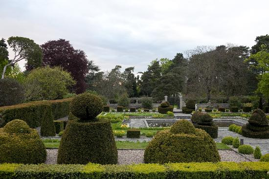Grounds of hotel
