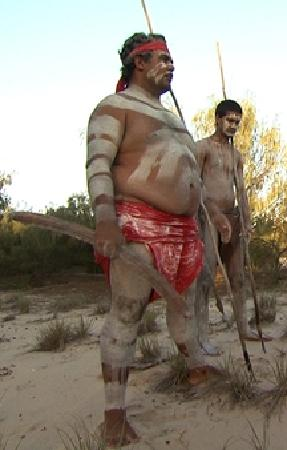Southport, Australien: Aboriginal ceremony Balunjali Gold Coast