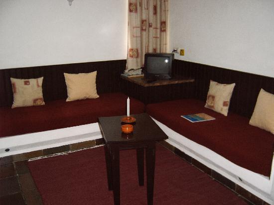 Apartamentos Turisticos Marsol: Die Sitzecke im Wohnzimmerbereich