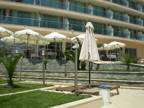 Elenite, Bulgarie : The hotel pool