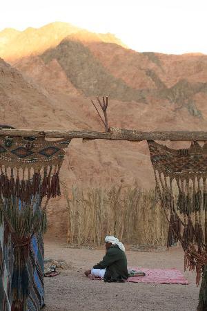 The Mirage Village Hotel: entrée du camp bédouin dans la montagne
