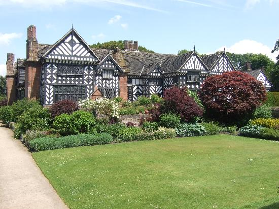 Speke hall tudor house gardens