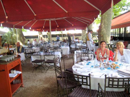 Argenson: the  lovely terrace